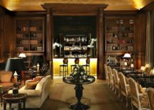 Dark-wood-brings-elegance-and-classic-charm-to-the-interior-of-the-lavish-French-hotel-in-Chantily-Forest-217x155