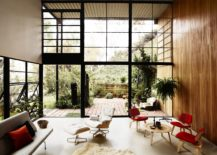 Eames House Living Room 217x155 Design Classic Stories: The Eames Lounge Chair and Ottoman