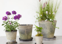 Earth fired clay pots from Terrain 217x155 Gift Ideas for the Nature Lover in Your Life