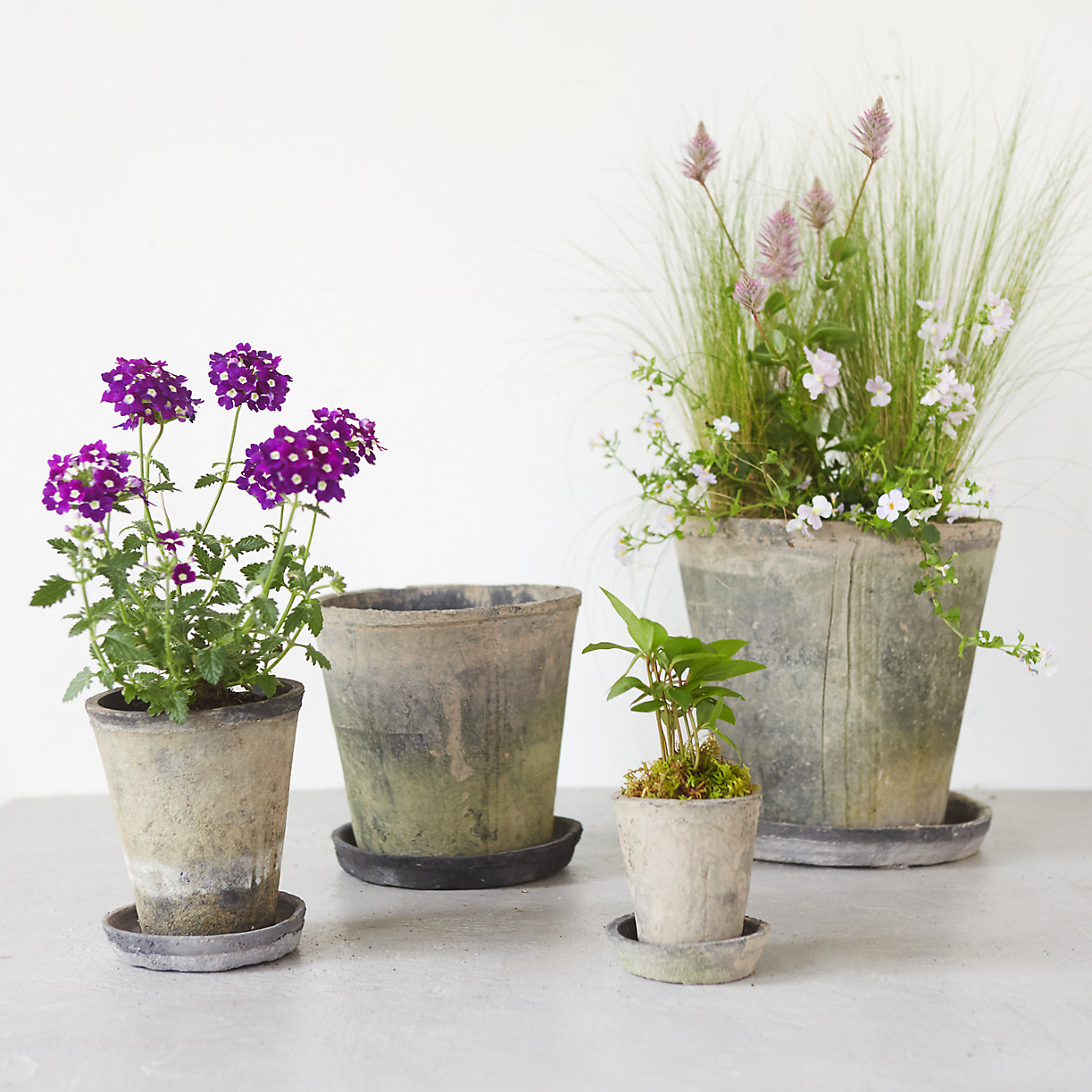 Earth fired clay pots from Terrain