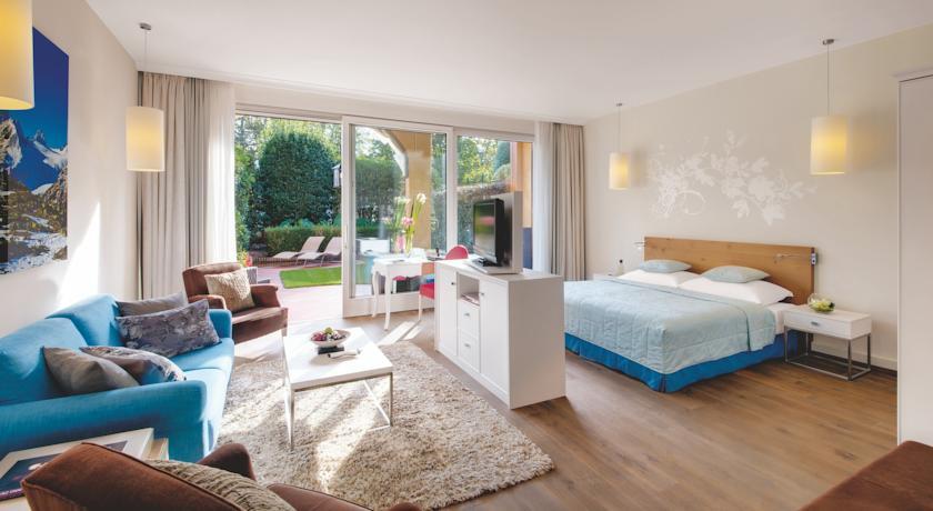 Elegant and relaxing rooms at Giardino Ascona