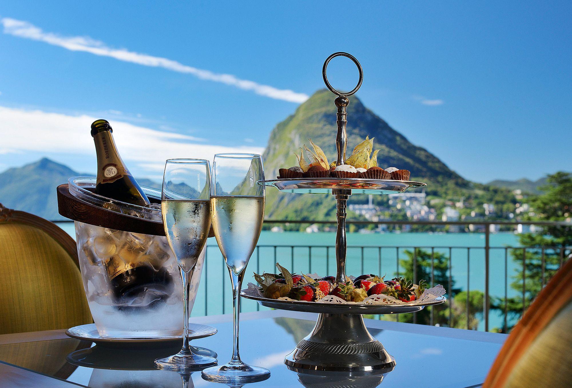 Enjoy the best of Swiss ski slopes at Villa Castagnola Grand Hotel Lugano
