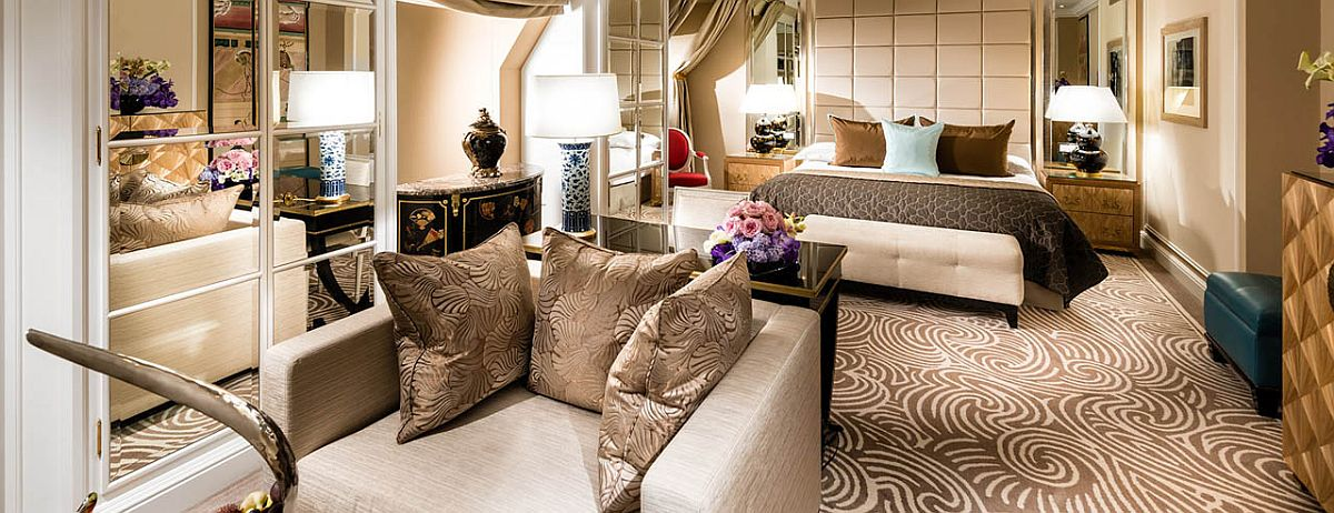 Exquisite suites at the 5-star Baur au Lac in Zurich