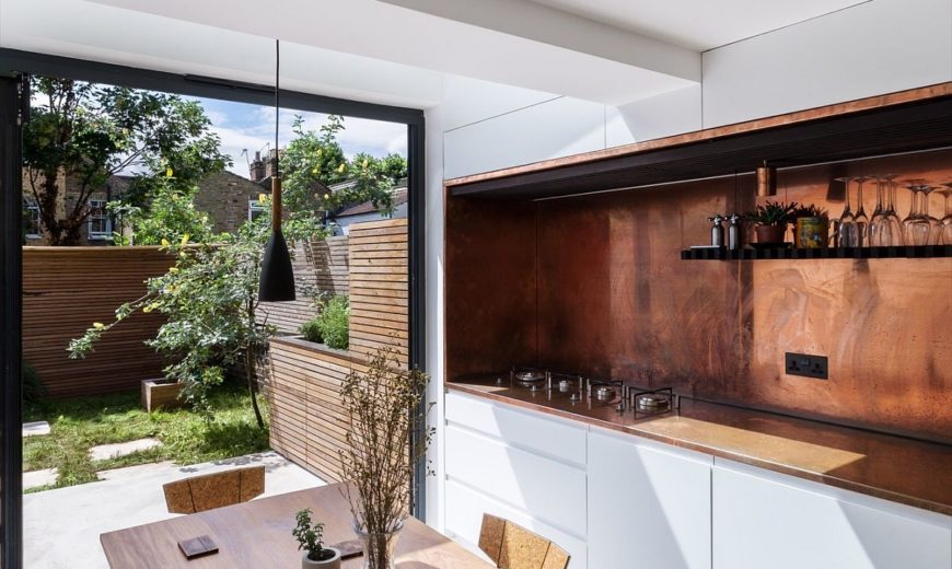 An Indulgent Dip: This Terraced London Home Gets a Stunning Sunken Bath