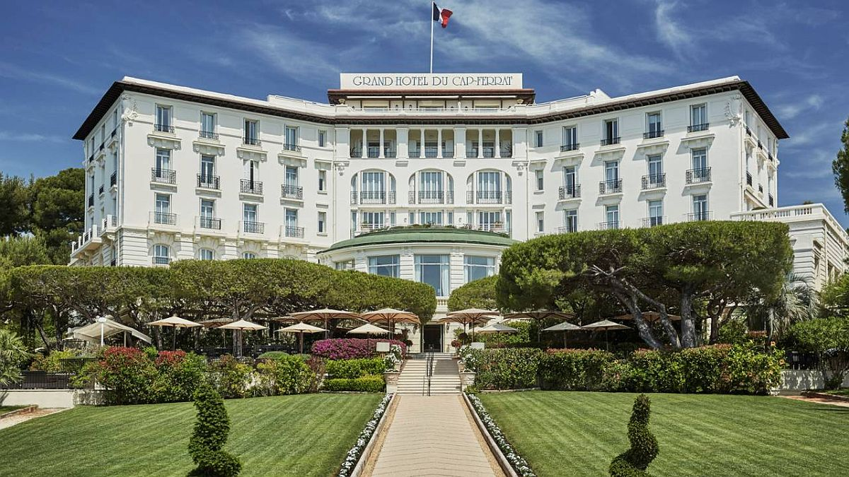 Grand-Hotel du Cap-Ferrat in French Riviera