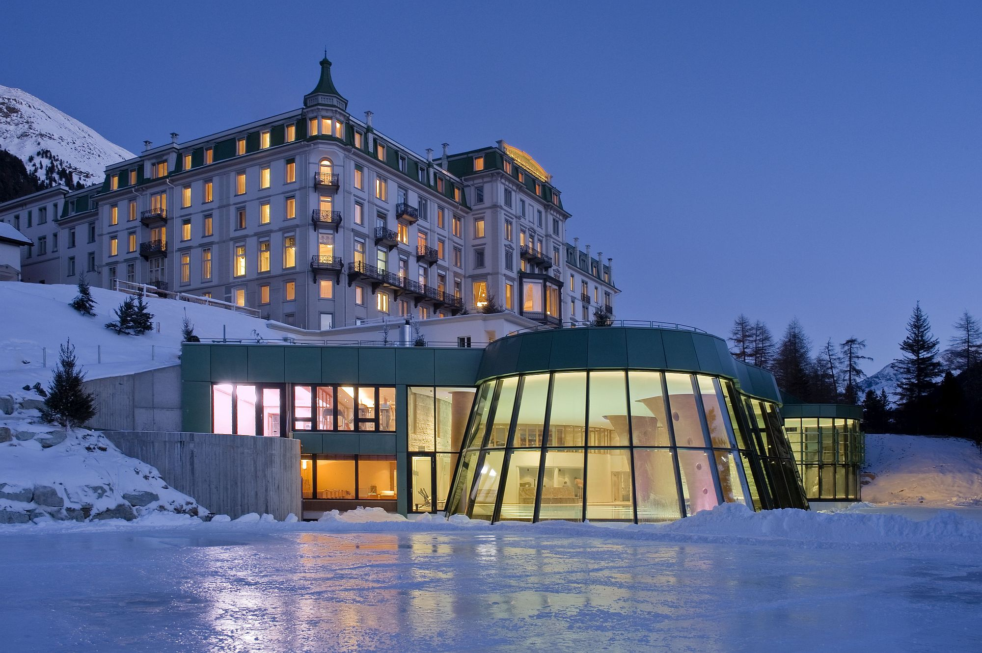 Grand Kronenhof truly offers a majestic Swiss getaway amidst stunning alps