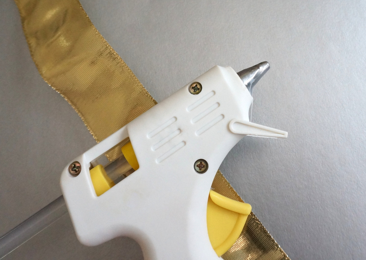 Have a glue gun on hand