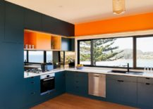 Kitchen-in-blue-and-orange-with-ocean-view-217x155