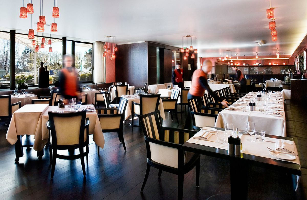 L'Accademia Restaurant at Angleterre & Residence Hotel