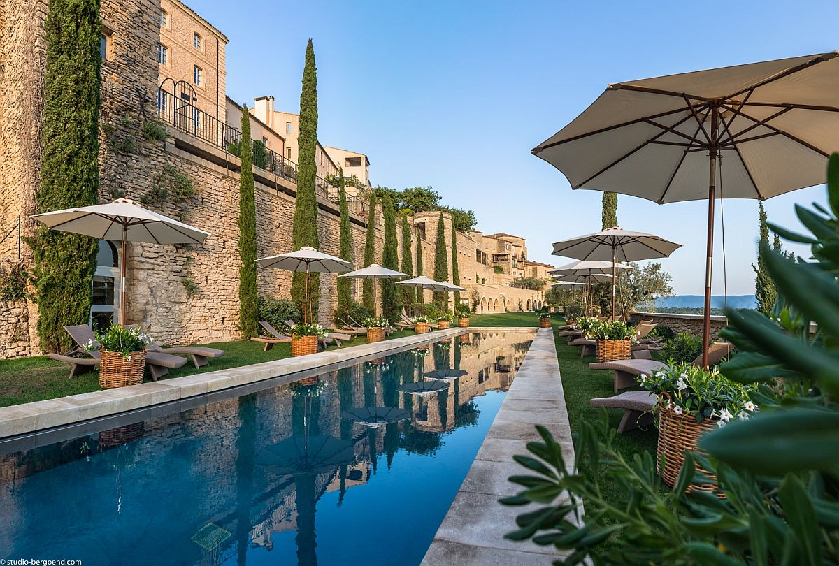 La Bastide de Gordes overlooking an idyllic French village