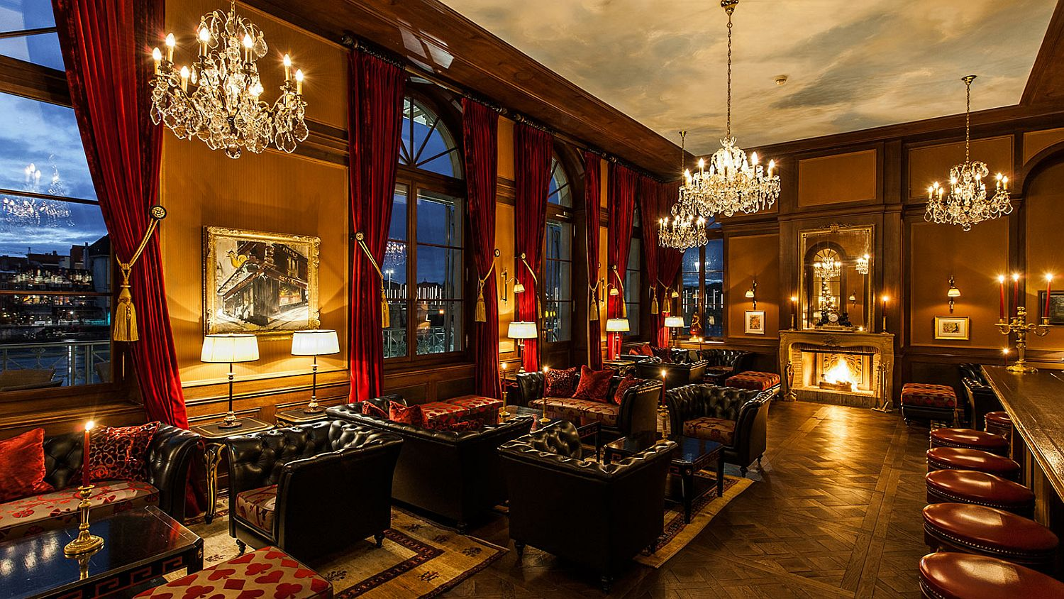 Live a life of luxury at Les Trois Rois, Basel