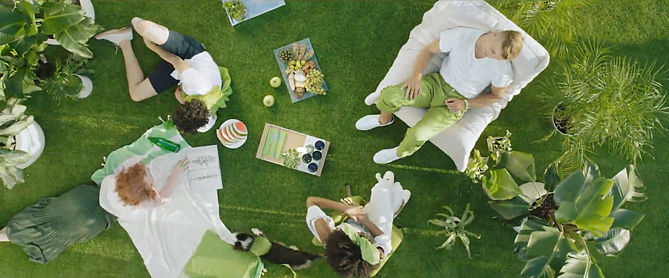 Living green with PANTONE's Color of the Year