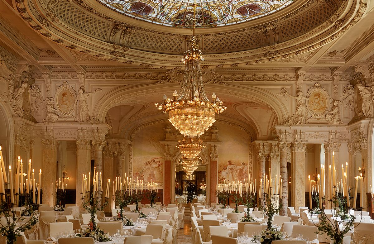 Look inside the extravagant Beau-Rivage Palace