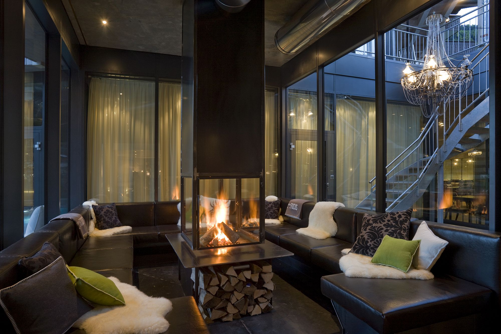 Lounge in style at Hotel Matterhorn Focus