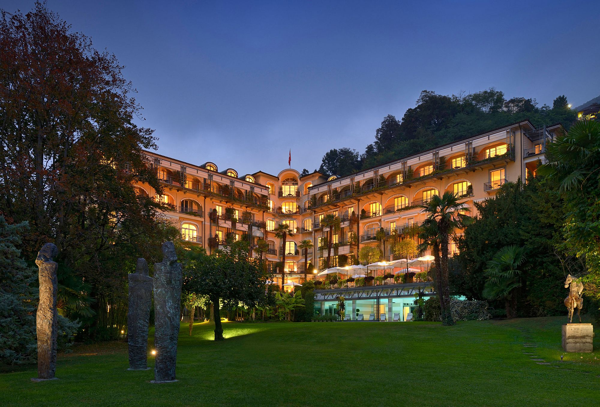Luxurious Villa Castagnola Grand Hotel Lugano