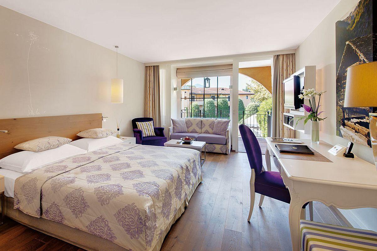 Luxurious and stylish rooms at Giardino Ascona