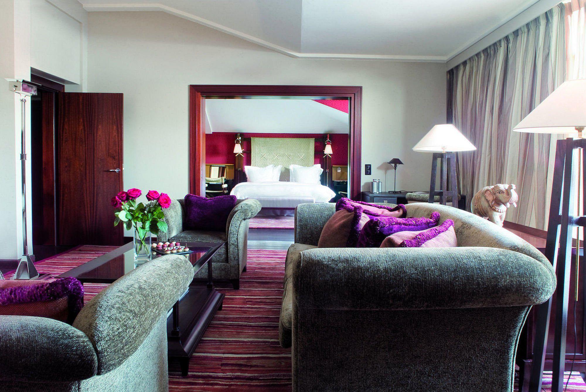 Luxurious interior of the La Reserve, Geneva