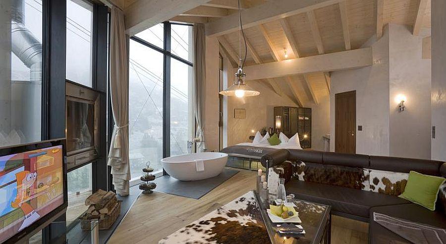 Luxurious suite at Hotel Matterhorn Focus