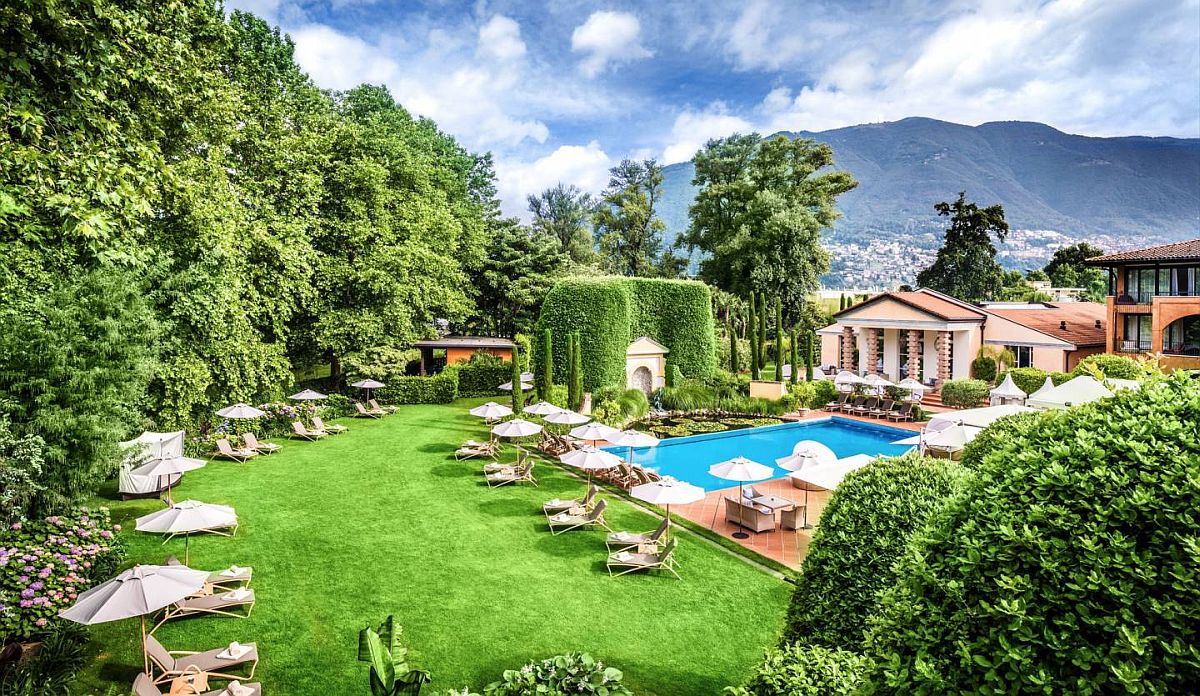 Meditteranean and Italian styles combined at Giardino Ascona