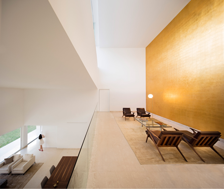 A minimal house in Monterrey, Mexico, bySpanish architectAlberto Campo Baezawith local firmGLR Arquitectos. Image by Javi Callejasvia Dezeen.