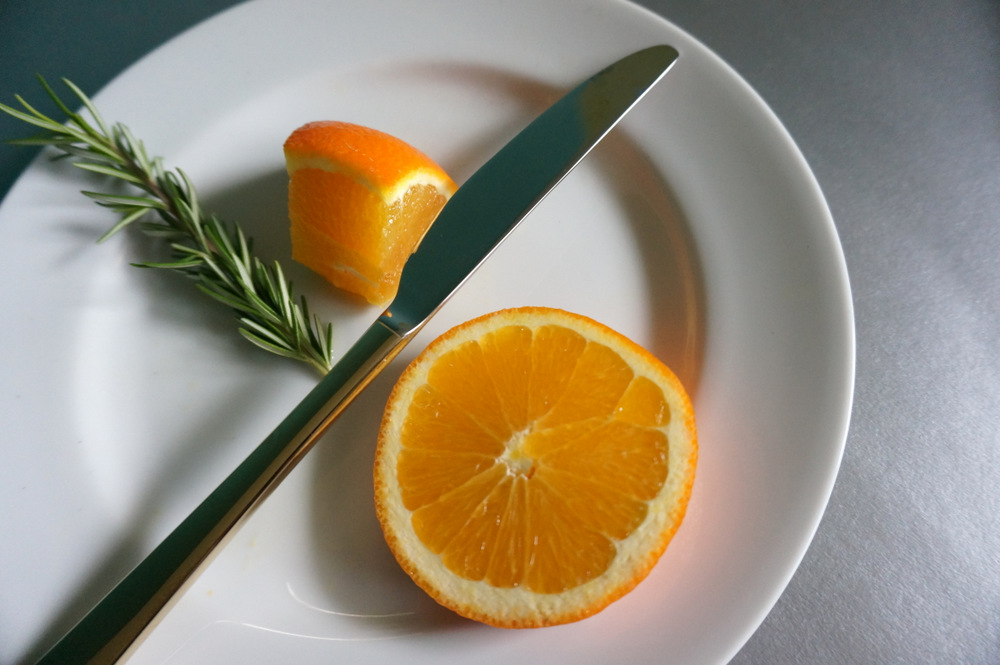 Oranges and rosemary add foodie flair