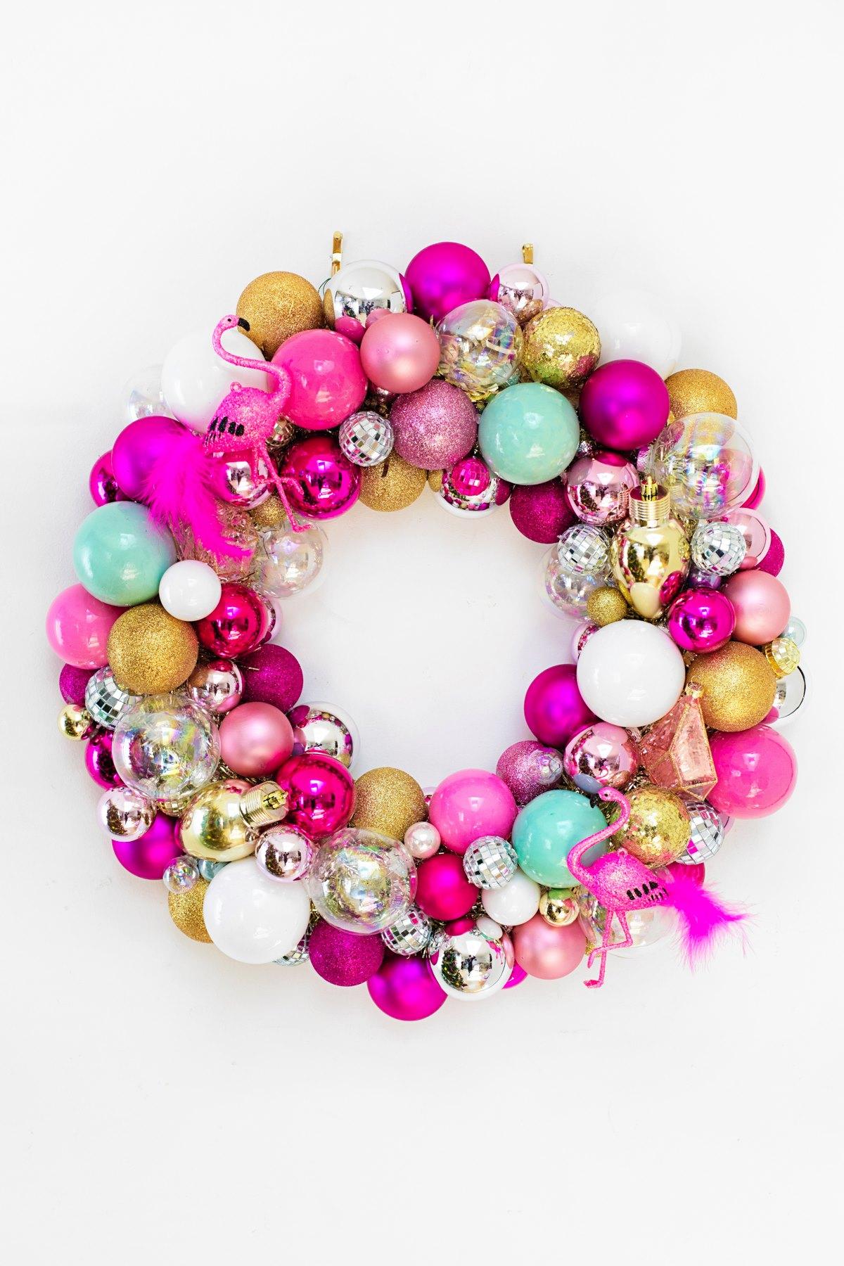 Ornament wreath from Studio DIY