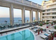 Outdoor-swimming-pool-and-lounge-at-Hyatt-Regency-Nice-Palais-de-la-Méditerranée-overlooking-the-sea-217x155