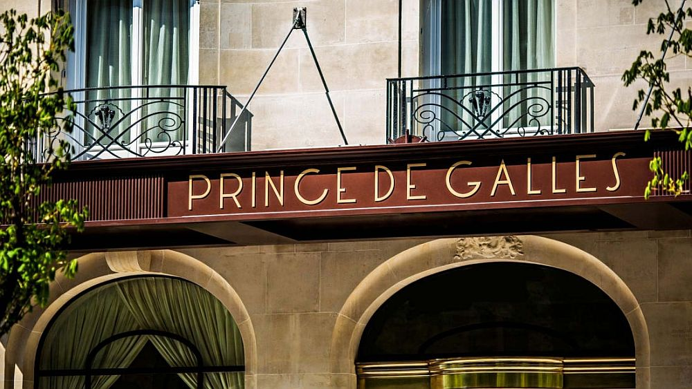 Parisian art deco style hotel a walk away from Champs-Elysees