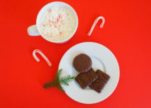 Plate of chocolate cookies 217x155 Making Spirits Bright: Warm, Rejuvenating Holiday Decor