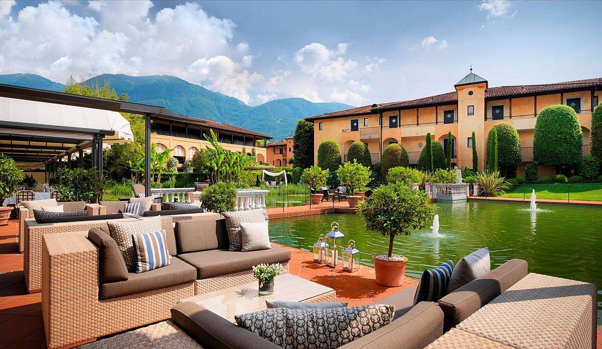 Poolside retreat at Giardino Ascona