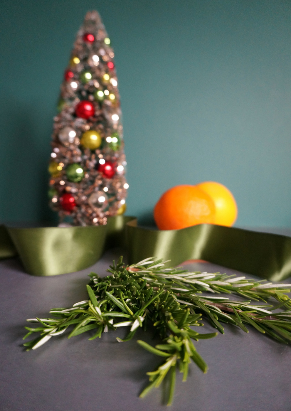 Rosemary adds a fragrant holiday touch