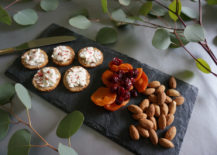 Slate cheese board 217x155 3 Easy Ways to Create a Decadent Holiday Table