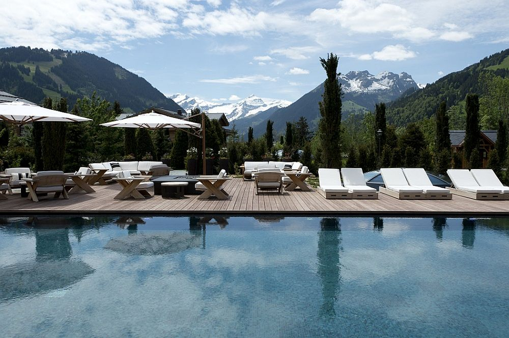 Soothing Six Senses Spa set among the Alps at Alpina Gstaad