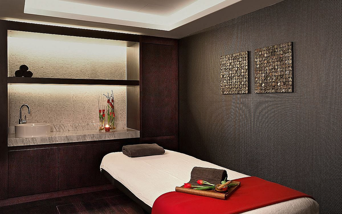 Spa at the fabulus Swiss Hotel allows you to rest and rejuvinate