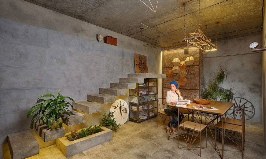 Stunning House of the Sun: Kiev Home Drenched in Persian Culture and Symbolism
