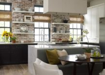 Stunning-kitchen-in-brick-and-Carrera-marble-217x155
