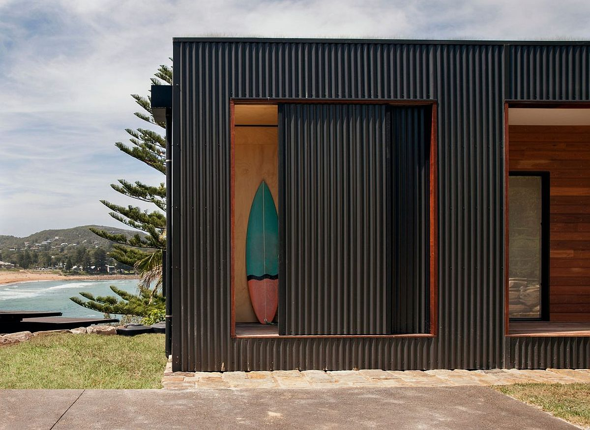Sustainable design and energy savvy methods create a lovely module in Australia