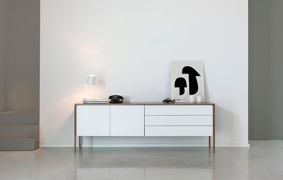 The 'Tactile' sideboard from Punt. Image via Punt.