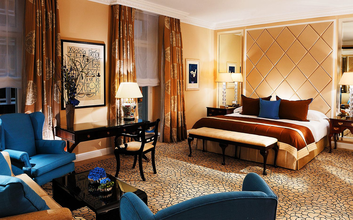 World class suites and romantic getaways welcome you at the Baur au Lac in Zurich