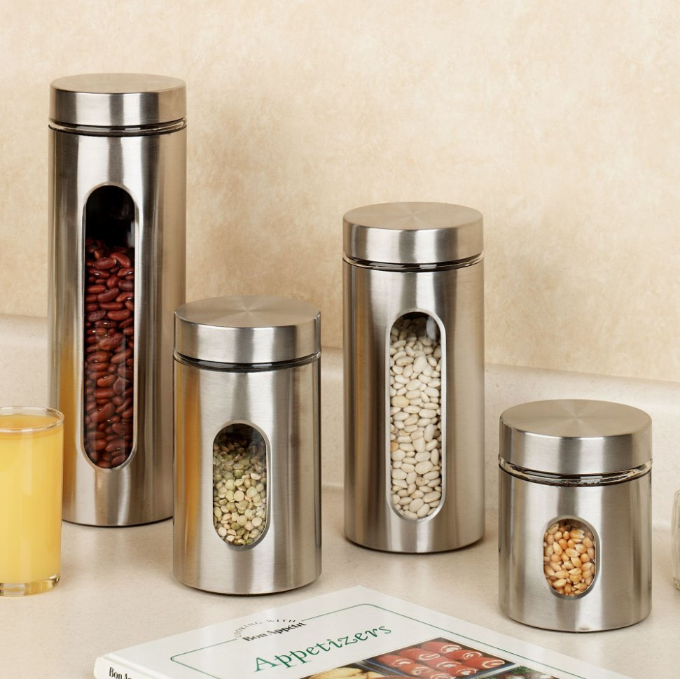 a fresh start helpful decor purchases for the new year view in gallery anchor hocking metal and glass food canisters