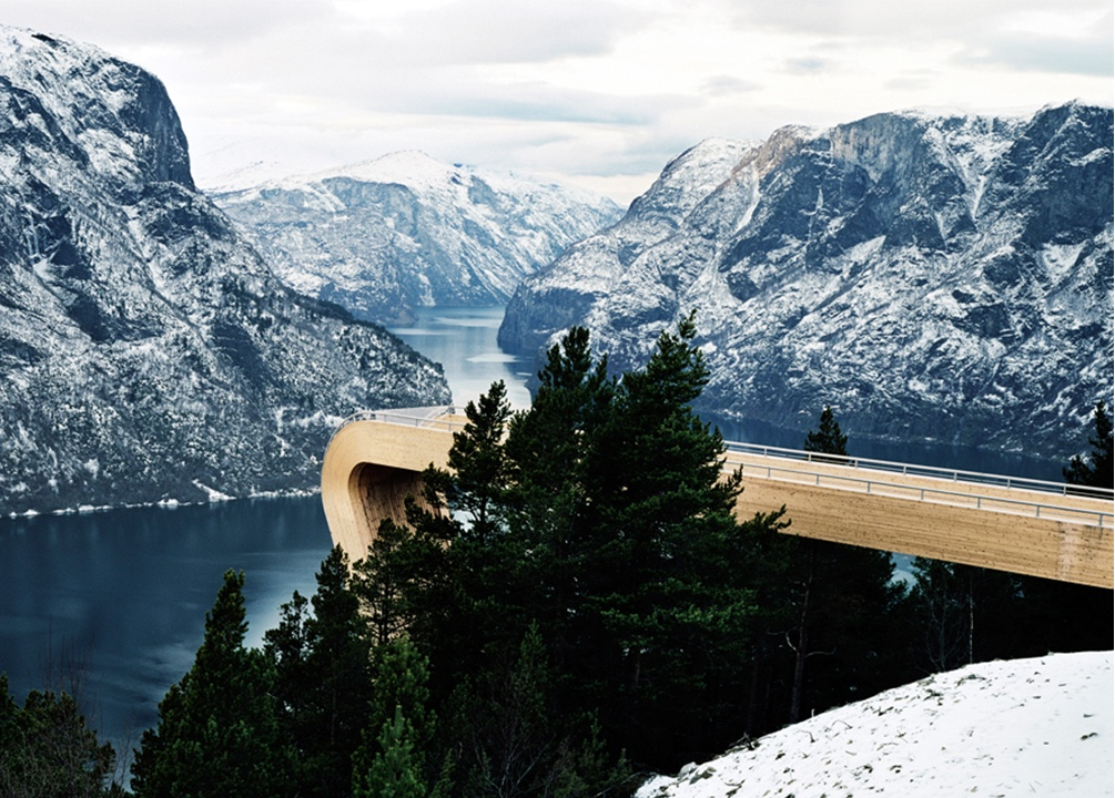 Aurland Lookout, Aurland, Norway