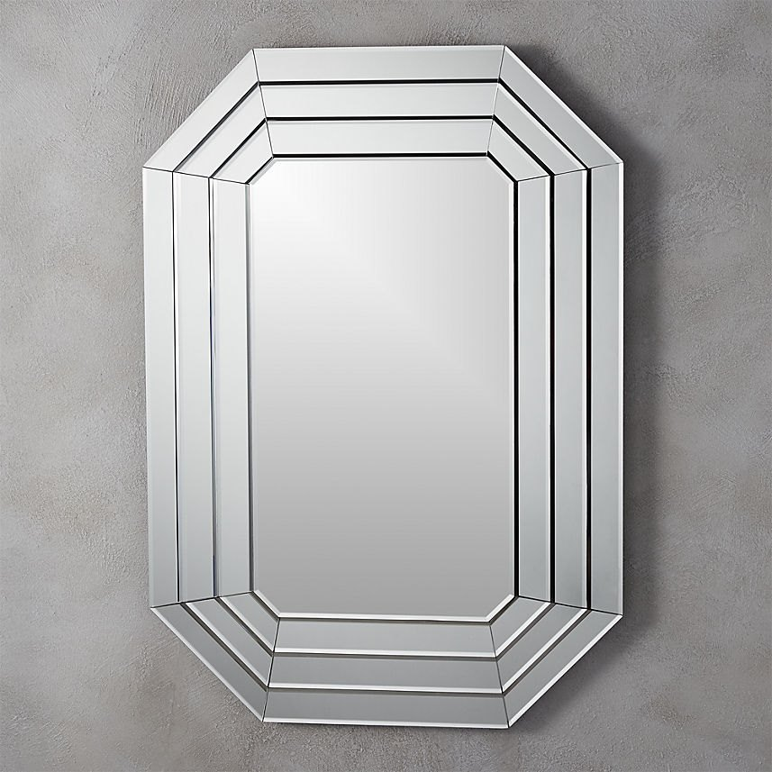 Beveled wall mirror from CB2
