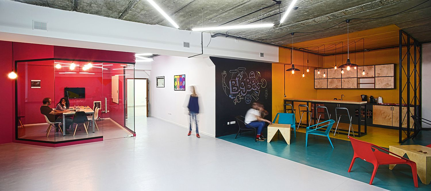 A World Of Color And Creative Design Modern Industrial