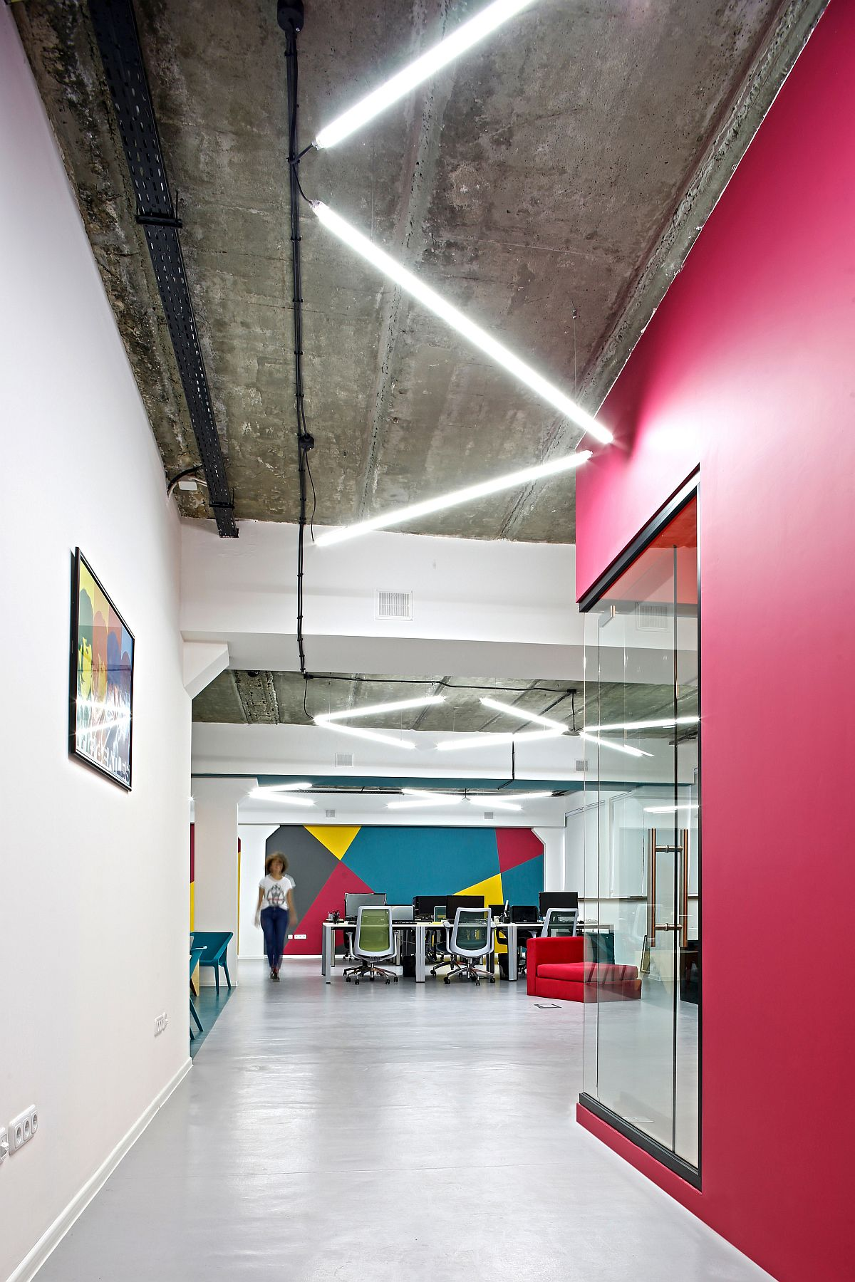 Colorful and industrial office space in Armenia