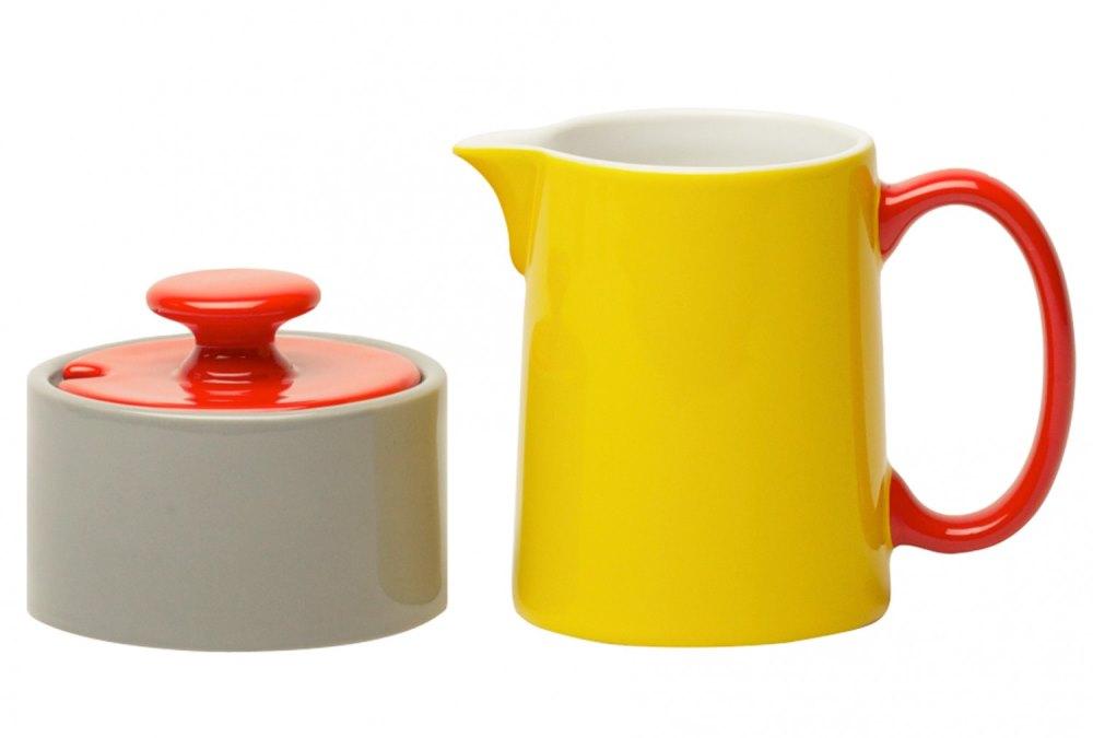 Colorful tea accessories