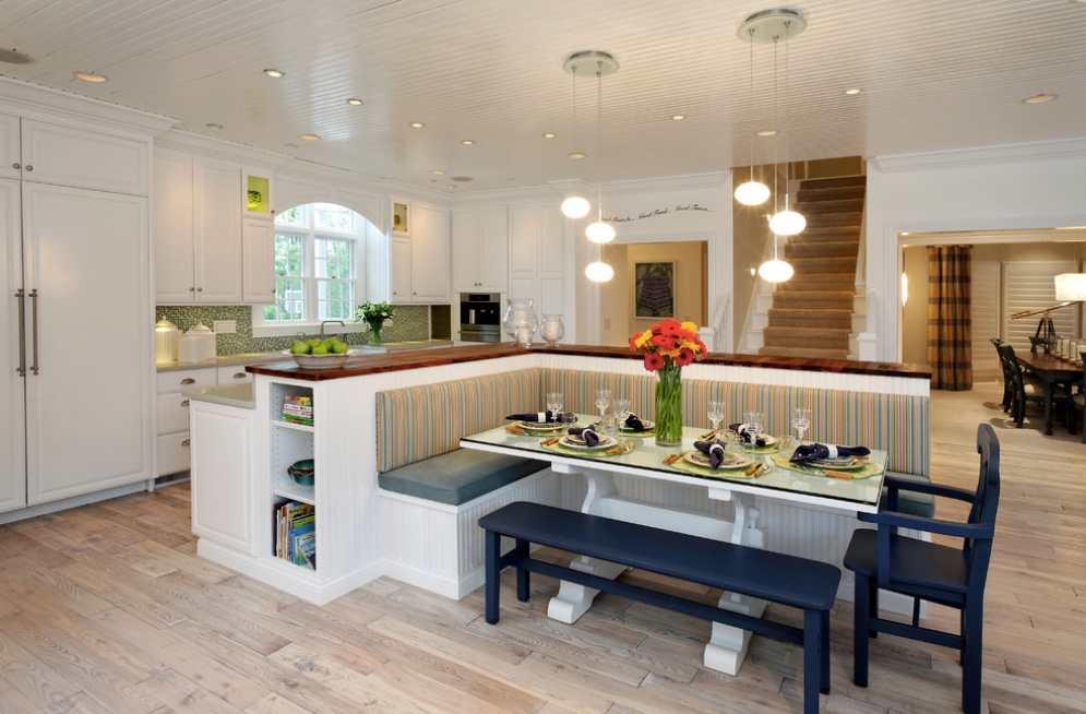 Dining In Comfort With Kitchen Banquettes Home Info