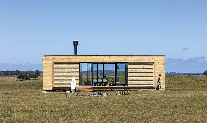 Design Simplicity: Relaxing Prefab that Takes You Away from Urban Rush