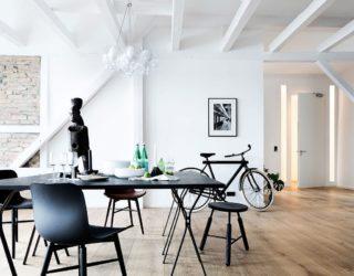 Natural Materials and Exposed Brick Walls Bring a Hint of New York to Berlin!