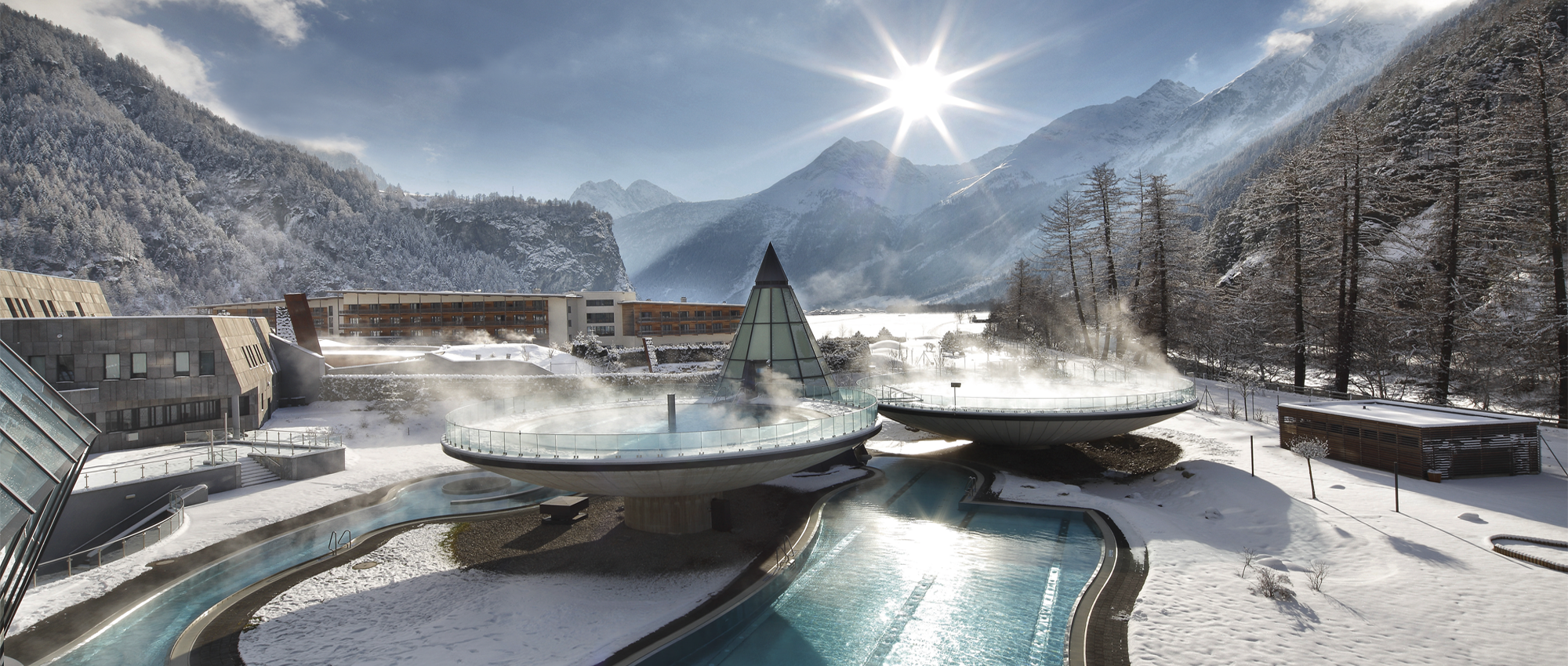 Enjoy the worlds most amazing thermal spa at Aqua Dome in Solden Austria Old World Charm: 20 Austrian Hotels and Spas to Swoon Over