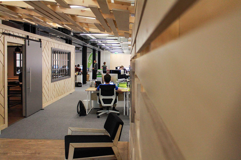 Ergonomic and unique London office design